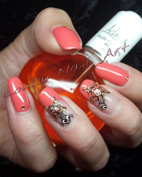 Ongle En Gel Corail by Ongles Gel Corail