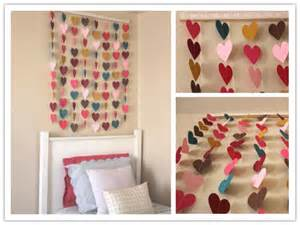 diy decorating ideas paper heart wall art diy decorating tutorial diy tag