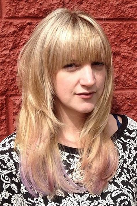 hair styles with bangs and layers around the face 50 layered hairstyles with bangs