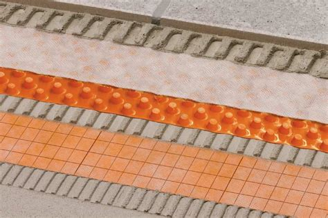 matte balkon schl 252 ter 174 ditra drain function schl 252 ter systems