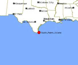 map of san padre island south padre island profile south padre island tx