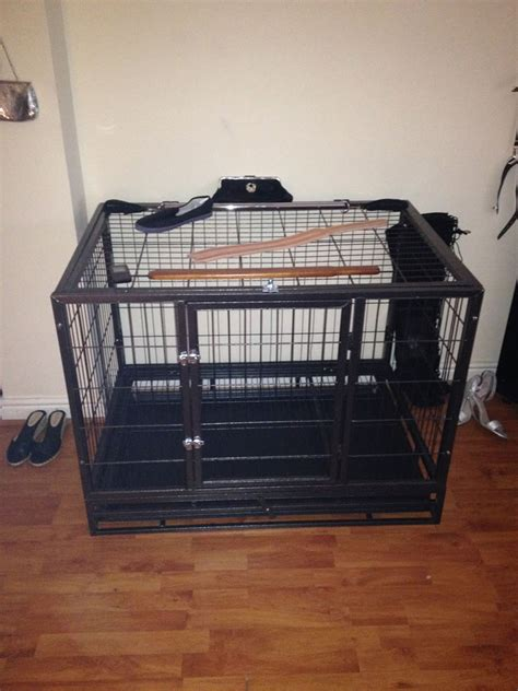 spanking bench for sale my new cage is here huddersfield mistress v