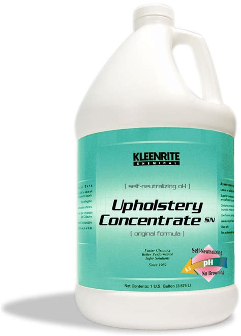 sofa cleaning chemical kleenrite upholstery concentrate sn self neutralizing