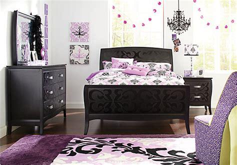 belle noir dark merlot  pc twin bedroom bedroom sets dark wood