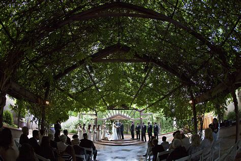 Courtney Albuquerque Botanical Gardens Botanical Garden Wedding