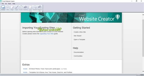 templates for corel website creator html5 website creator phpsourcecode net