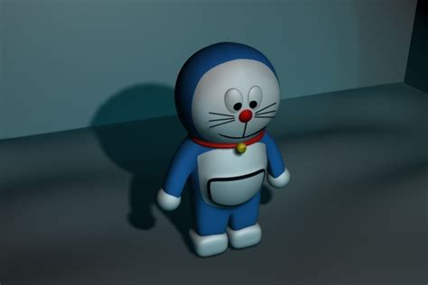 3d Softcase Doraemon Iphone 5 6 3d model doraemon vr ar low poly max cgtrader