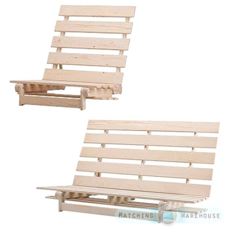 Single Wooden Futon by Wooden Futon Base Frame 1 Seater Single And 2 3 Str Ikea Grankulla Size Ebay