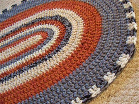 Crochet Oval Rug Pattern by Oval Crochet Rug Crochet Home