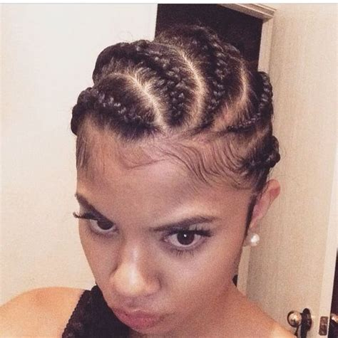 1990s godest braids cornrow with crochet braids hairstyles