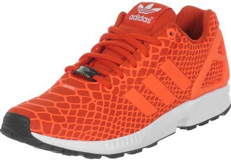 adidas zx flux techfit shoes orange