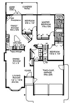 narrow lot ranch house plans 1000 images about house plans on pinterest narrow lot
