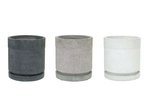 Cylindrical Planter by Cylindrical Large Planter Pr Home