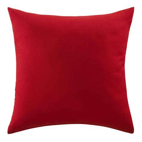 cuscino rosso cuscino rosso da esterno 40 x 40 cm maisons du monde