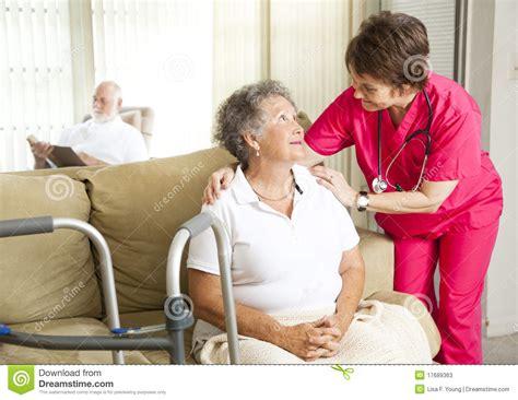 nursing home care stock photos image 17689363