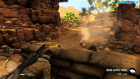 Sniper Elite 3 Ultimate Edition Ps4 sniper elite 3 ultimate edition mission 1 ps4 gameplay