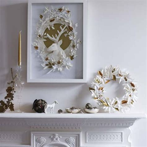 white and gold christmas decorations modern christmas