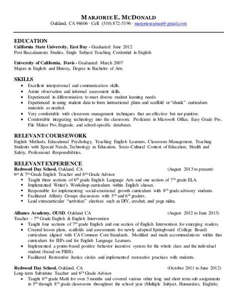 seafarer resume sle objective resume exles career