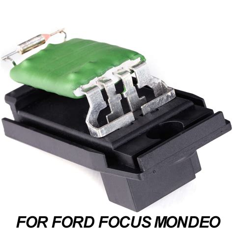 heater resistor on a ford focus heater motor blower resistor for ford focus mondeo mk ii mk iii 1311115 ebay