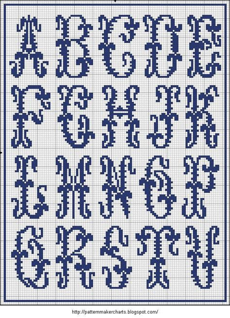 letter pattern in english 196 best images about colorwork charts alphabets on