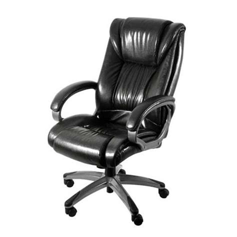 Genuine Leather Executive Chair by Z Line Designs Genuine Leather Executive Chair Black