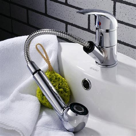 chrome sink bath faucet spray head shower replacement head