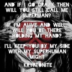 3 Doors Superman by Lyrics On Three Days Grace Linkin Park And