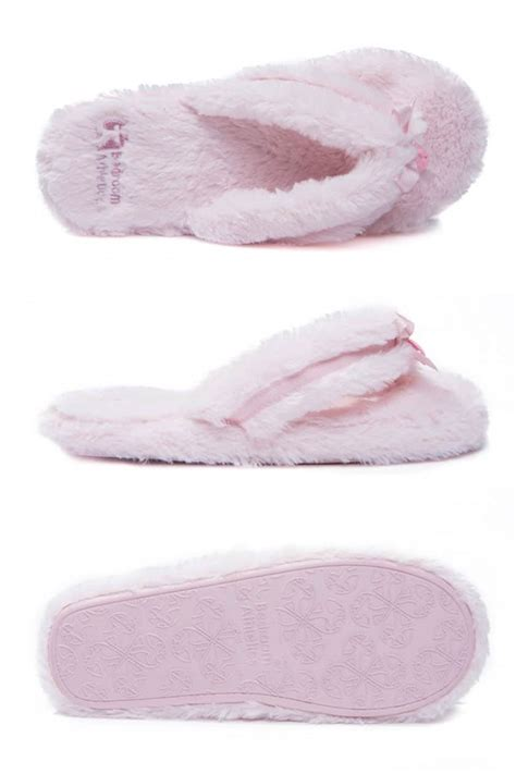 soft bedroom slippers bedroom athletics super soft pink dressing gown and