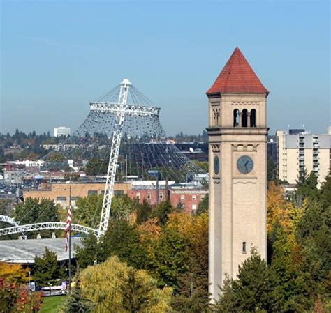 colville wa city center clock tower photo picture about spokane inhs inland northwest health services