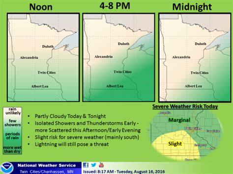 plymouth mn weather severe thunderstorms possible in central and southern