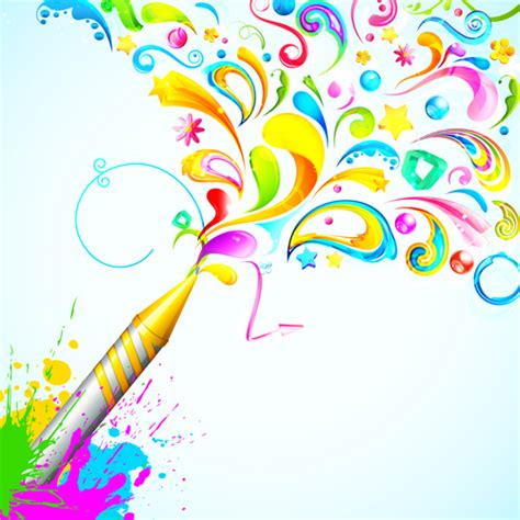 ppt templates for holi dynamic holi vector background 05 over millions vectors