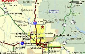 cave creek arizona map where is cave creek arizona