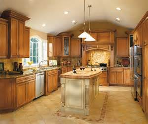 Maple Finish Kitchen Cabinets Coffee Glazed Cabinet Finish On Maple Decora