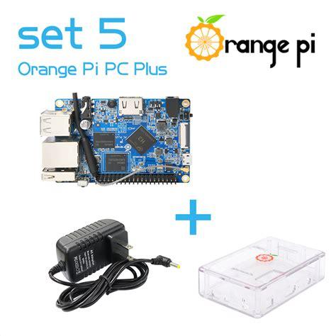 Termurah Orange Pi One Development Board Casing Box Ah12 aliexpress buy orange pi pc plus set5 orange pi pc plus transparent abs power