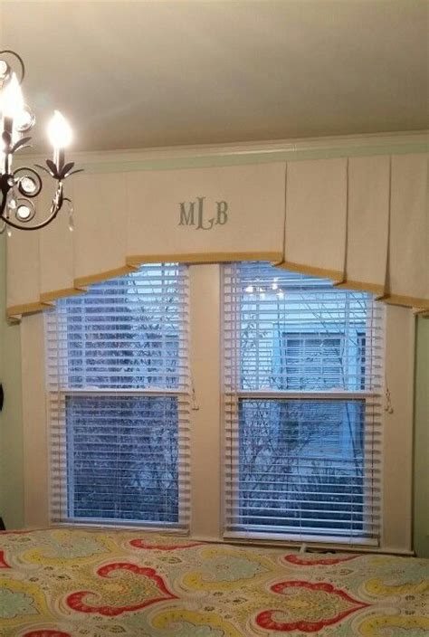 Monogram Window Curtains Custom Monogram Window Treatment By Design For The Home Window Coverings Pinterest Window
