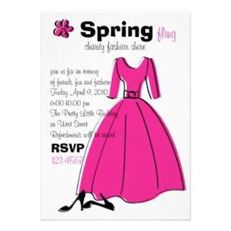 fashion invitation card template fashion show invitations fashion show invitation