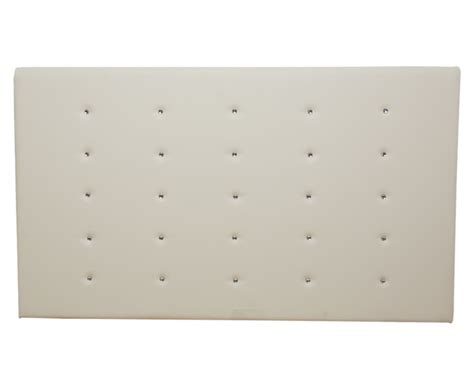 cream leather headboard king size regents 5ft cream faux leather headboard special offer