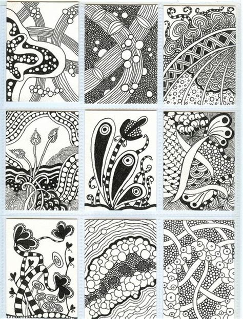 doodle ideas zentangle patterns ideas zentangle
