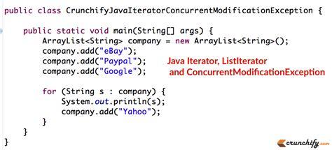 tutorial java iterator java iterator listiterator fundamentals and