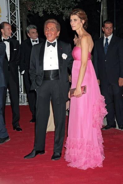 Valentinos 45th Anniversary Gala Carpet by Rosario Nadal Photos Photos Valentino 45th Anniversary