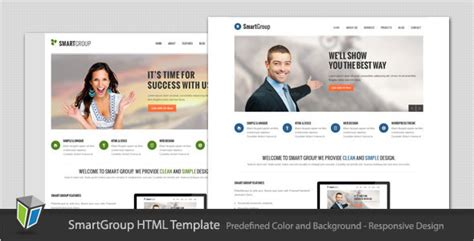 Business Html Template smartgroup responsive business html template