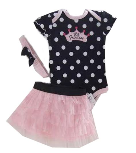 Dress Polka Princess Fit 3 4th Cc polka dot baby lil princess tutu 3pc set