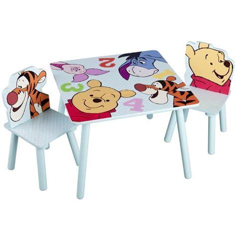 Table Winnie L Ourson Et Chaise by Winnie L Ourson Table Enfant Chaises Achat Vente