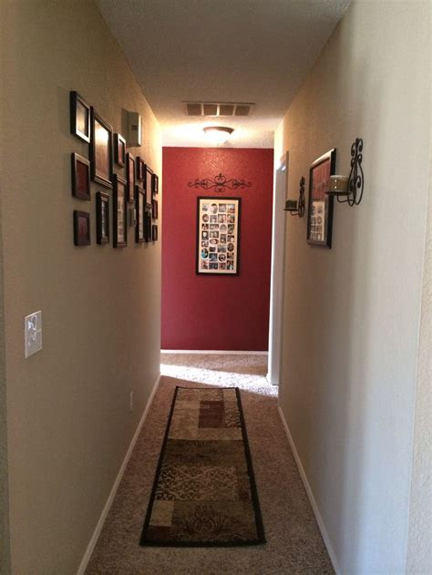 Hallway Wall Decor by Color Accent Wall Hallway Decor Mi Canton