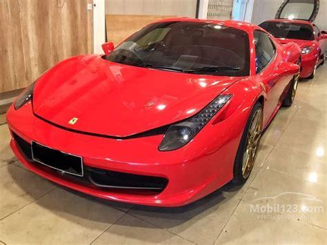 Kaos Mobil Ferarri 458 Spider jual mobil 458 2012 spider 4 5 di dki jakarta automatic convertible merah rp 5 999 000