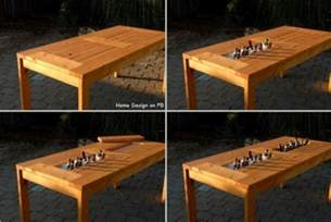 Patio Table Diy Pdf Diy Diy Patio Table Design Diy Rustic Dining Table Plans Woodguides
