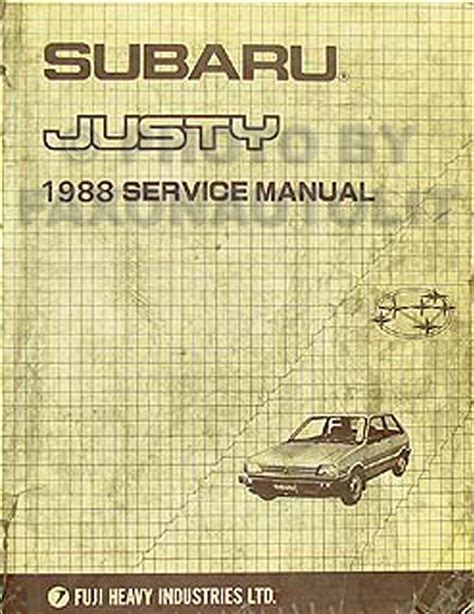 service and repair manuals 1994 subaru justy auto manual 1994 subaru justy wiring diagram wiring automotive wiring diagram