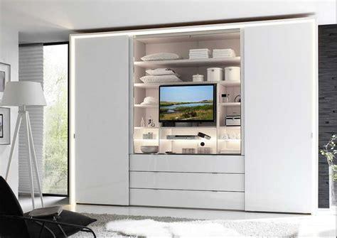 Kleiderschrank Mit Tv by Kleiderschrank Schiebet 252 Ren Mit Schubladen Dass Integriert