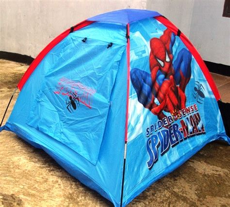 membuat tenda anak detail product tenda anak spiderman toko bunda online