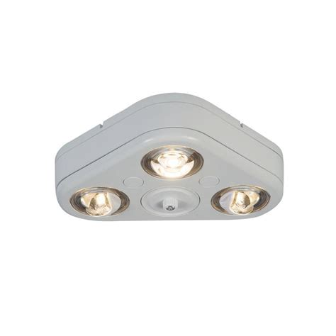 dusk to light all pro revolve white outdoor integrated led